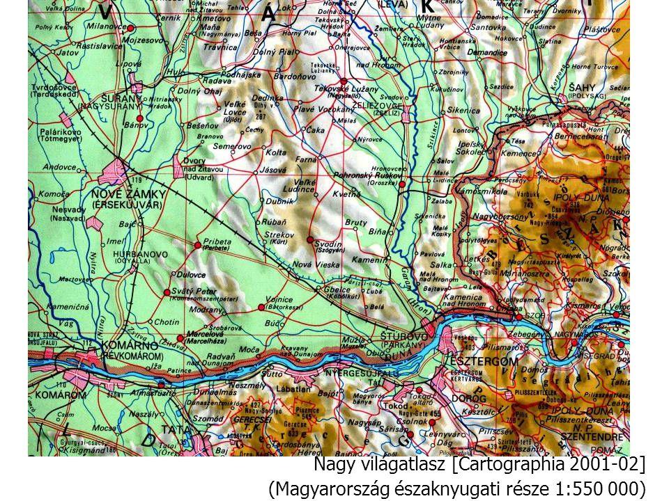 Nagy világatlasz [Cartographia 2001-02]